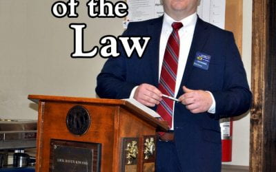 District Attorney Dave Strouse outlines county challenges, treatment programs